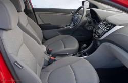 Hyundai Accent, машина, корейский автомобиль, салон
