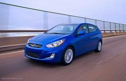 Hyundai Accent, машина, корейский автомобиль, седан