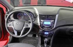 Hyundai Solaris, седан, машина, корейский автомобиль, салон