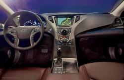 Hyundai Grandeur, седан, Korea, авто, интерьер, салон