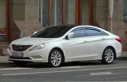 Hyundai Sonata, машина, корейский автомобиль