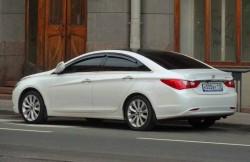 Hyundai Sonata, седан, машина, корейский автомобиль