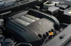 Хендай Санта Фе, двигатель, V6, Korea, кроссовер, корейские автомобили