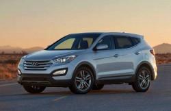 Hyundai Santa Fe, внедорожник, Корея, Хундай, Хэндэ, Хондай