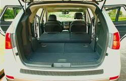 Хендай ix55, Корея, корейские автомобили, машина, багажное отделение