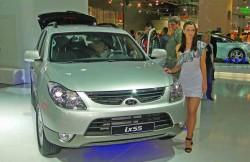 Хендай ix55, салон, Корея, машина, корейские автомобили
