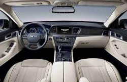 Hyundai Genesis 2, руль, Korea, седан, авто, фото, торпеда, дисплей