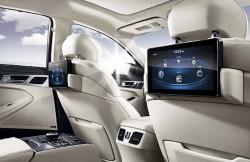 Hyundai Genesis 2, задние кресла, седан, Korea, авто, интерьер, фото