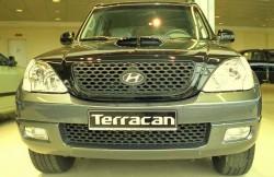 Hyundai Terracan, внедорожник, Korea, авто, интерьер, фото