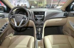 Hyundai Verna, передняя панель, салон, Korea, фото, авто