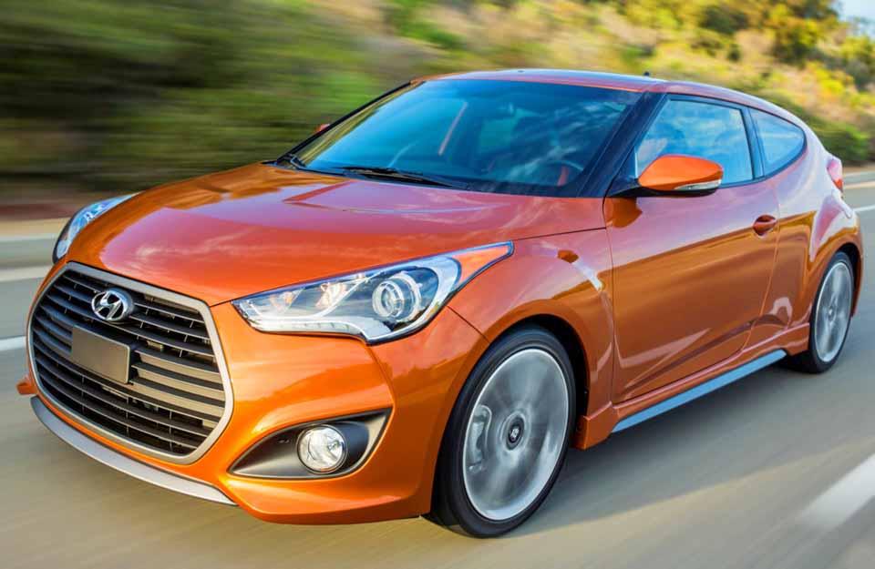 Hyundai Veloster Turbo, Хендай, корейские автомобили, машина, яркие цвета